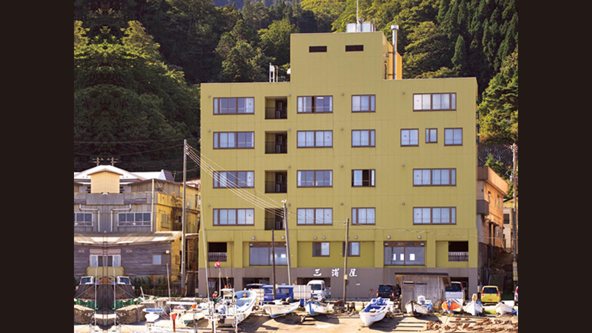 下風呂観光ホテル 三浦屋 その1