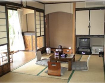 民宿水分村の客室の写真