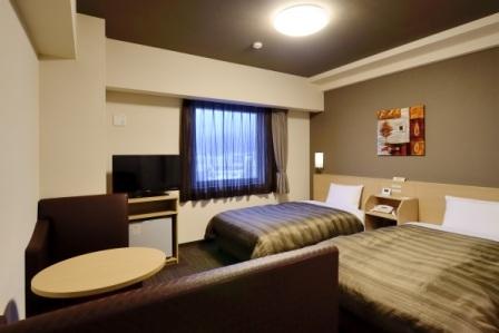ホテルルートイン浜松ディーラー通りの客室の写真