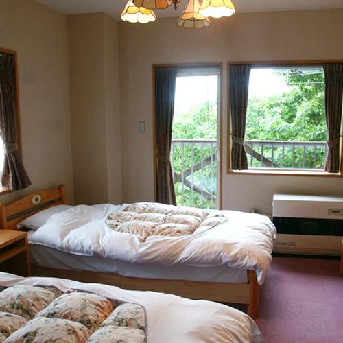 八甲田山荘の客室の写真