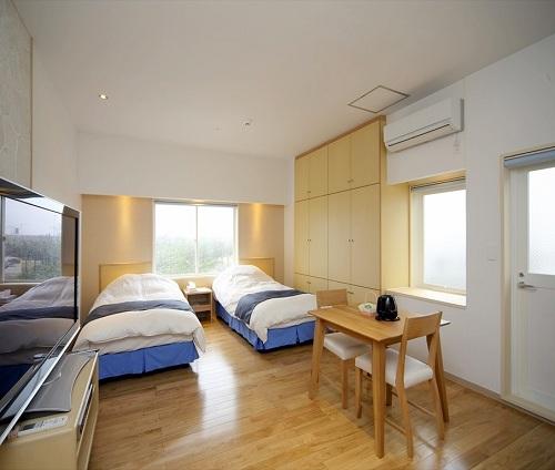 ワイヤーズホテルNAHAの客室の写真