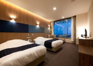 陸前高田 キャピタルホテル1000の客室の写真