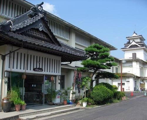 富田山荘の写真
