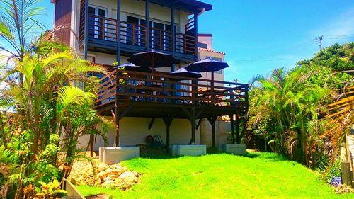 Ma-Blue Garden House...