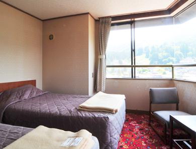 野沢ビューホテル嶋田屋の客室の写真