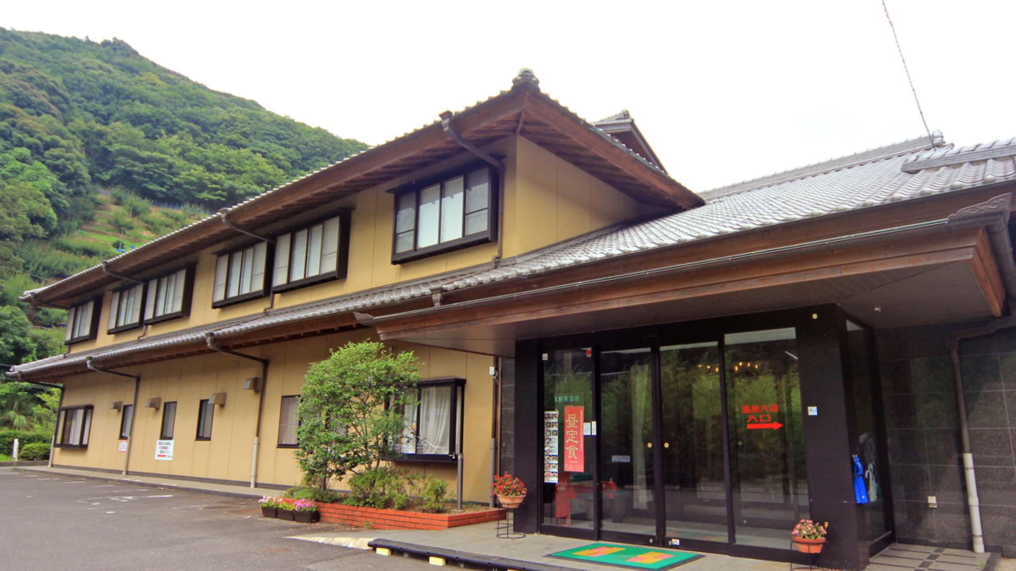 鶴の湯温泉 外観写真