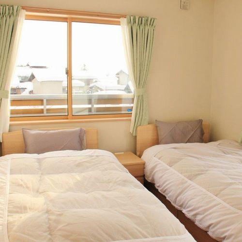 志賀高原山麓・信州中野 小さな旅の宿 Guest House かのかの客室の写真
