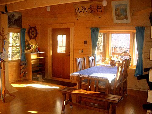 レンタルログハウス 遊山荘の客室の写真