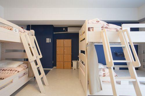 名古屋トラベラーズホステルの客室の写真