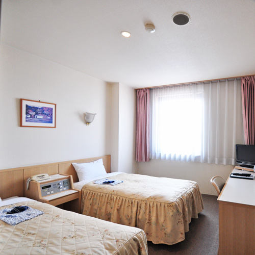 ホテルサンシャイン佐沼の客室の写真