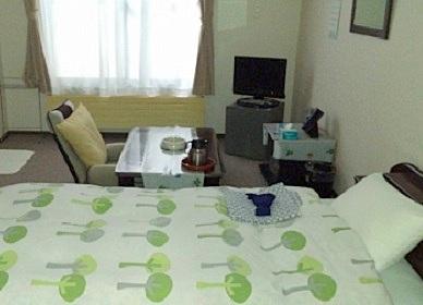 くりやま旅館の客室の写真