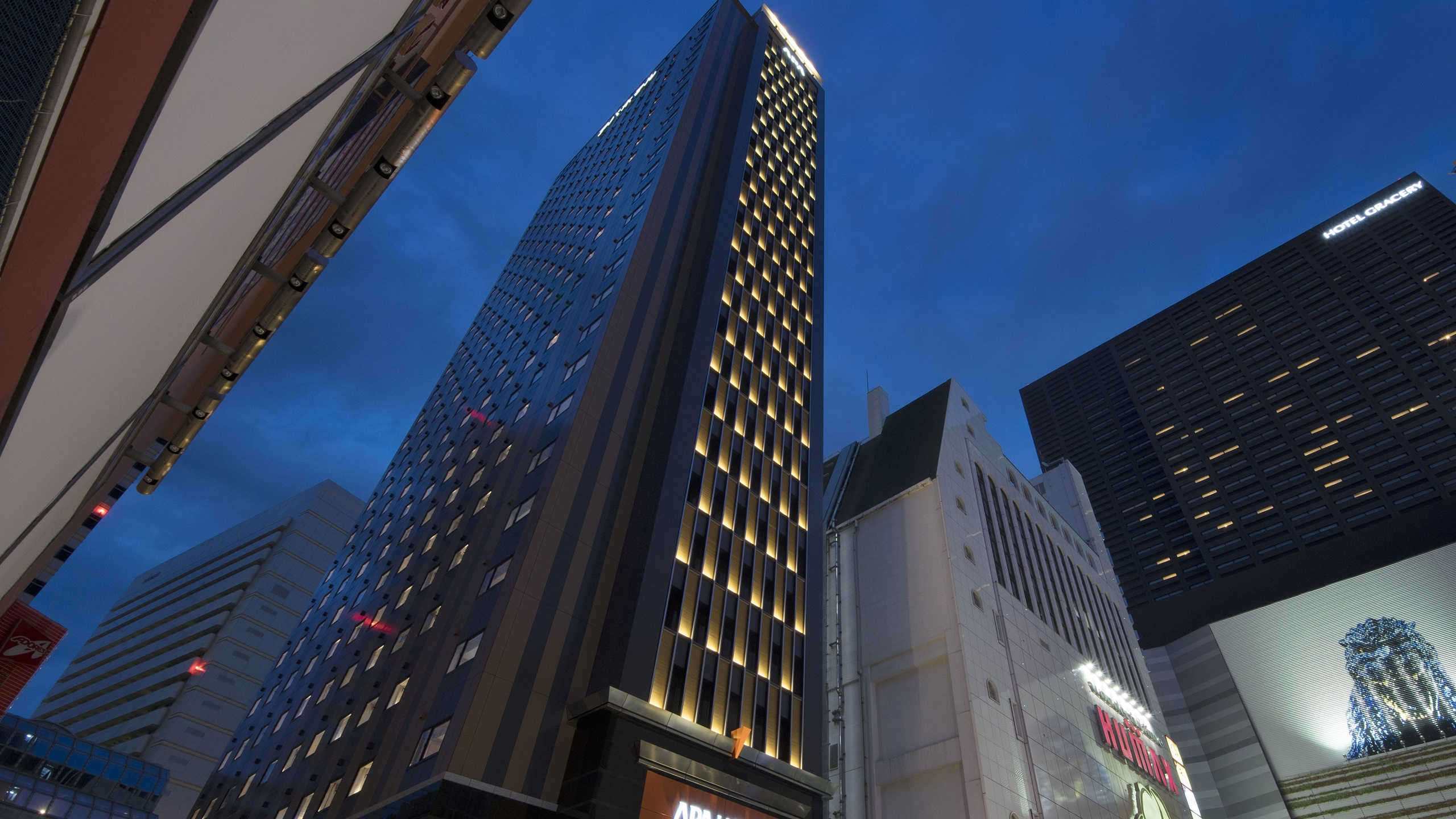 アパホテル<新宿 歌舞伎町タワー> 外観写真