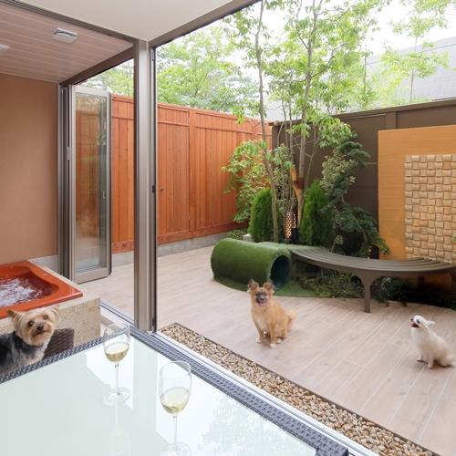 Dogサバトリーのある宿 ご・遊庭