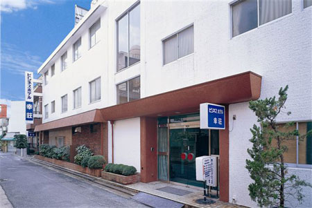 ビジネスホテル幸荘の外観