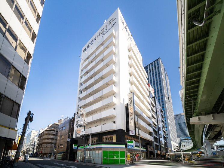 スーパーホテルLohas地下鉄四つ橋線・本町24号口...
