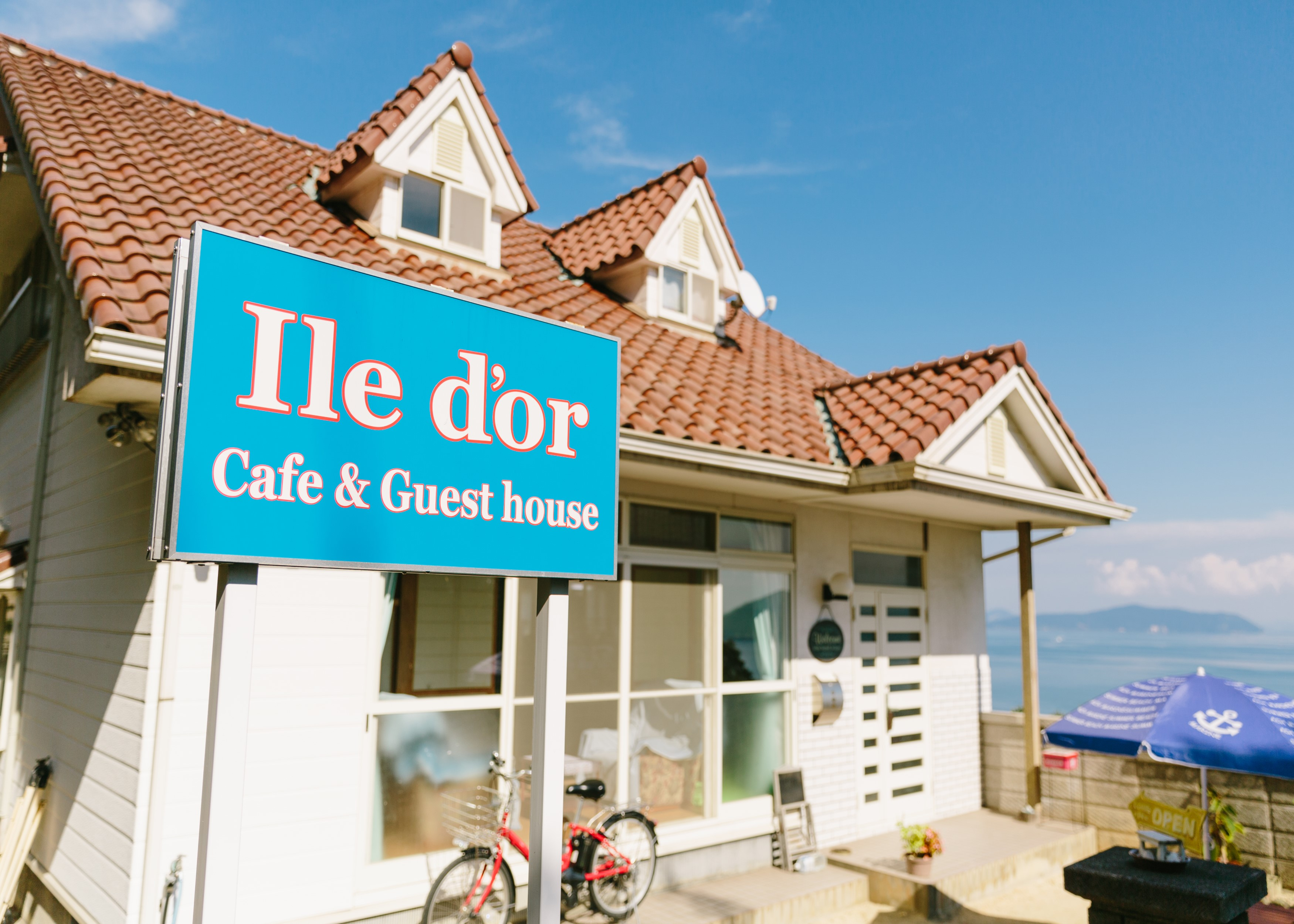 Ile d'or cafe&guesthouse <大飛島>