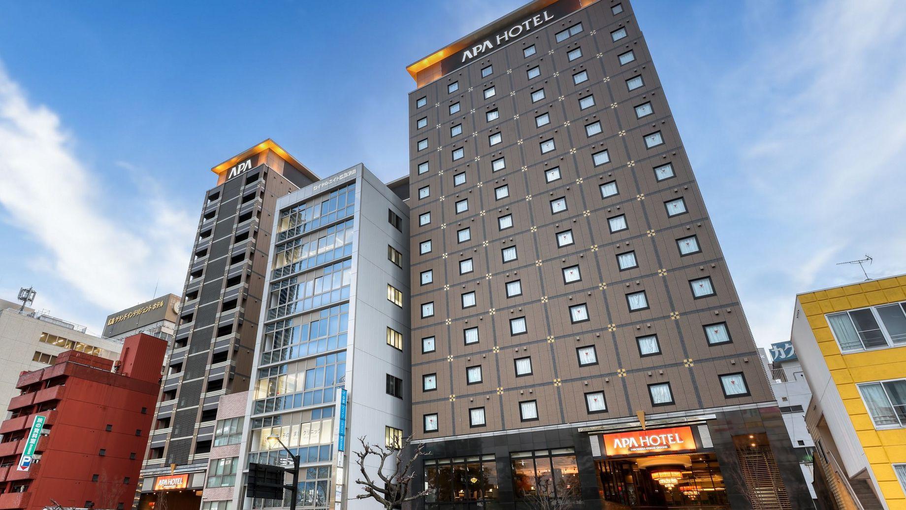 アパホテル<広島駅前大橋> 外観写真
