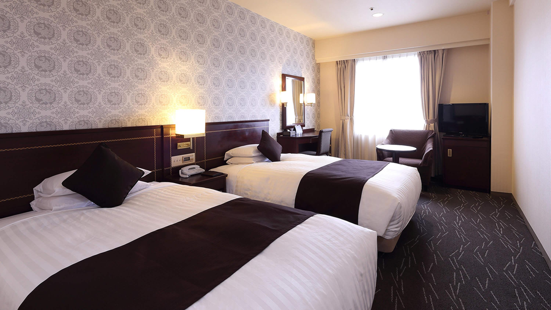 西鉄グランドホテルの客室の写真