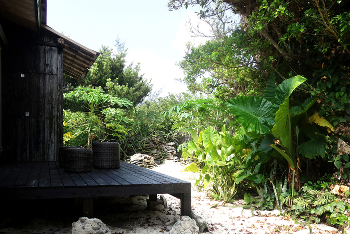 伝泊 プライベートビーチのある宿<奄美大島>
