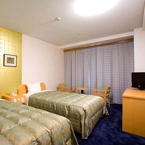 ハイネスホテル久留米の客室の写真