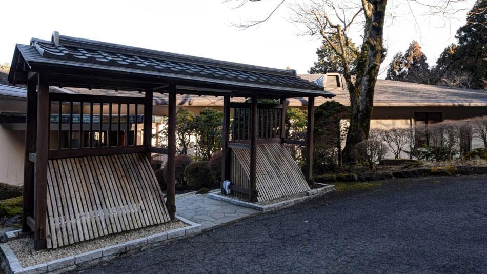 冬に雪景色を楽める露天風呂がある箱根温泉
