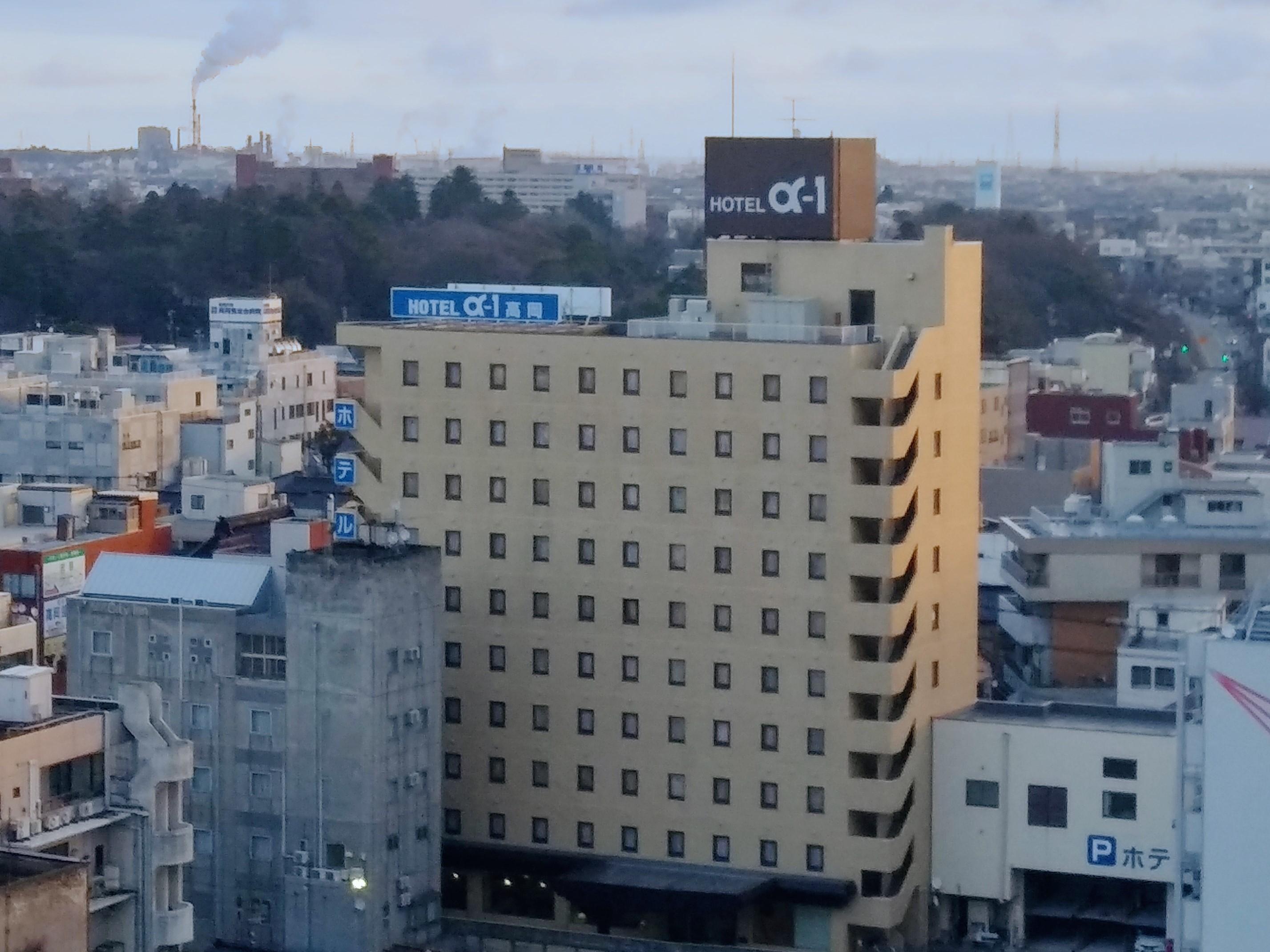 ホテルアルファーワン高岡の施設画像