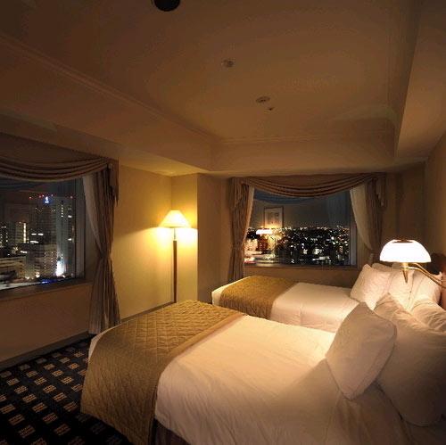 横浜ベイシェラトンホテル&タワーズの客室の写真