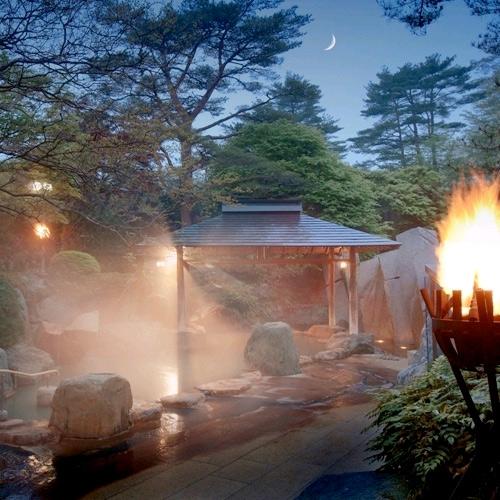 秋保温泉 篝火の湯 緑水亭 画像