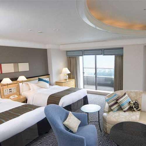 ホテルニューオータニ幕張の客室の写真