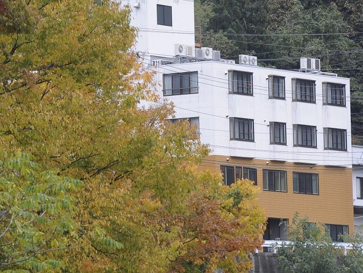 ホテルあずまし屋 外観写真