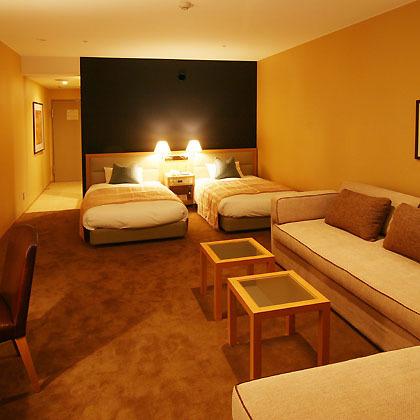 ホテルタングラム 斑尾東急リゾートの客室の写真