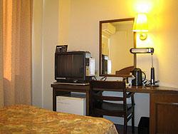今治ステーションホテルの客室の写真