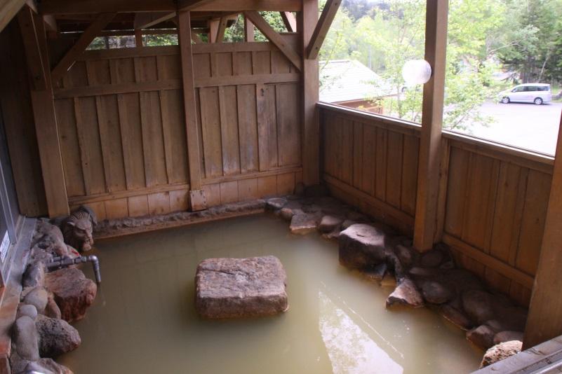 源泉かけ流し露天風呂 御宿 白金の湯 画像