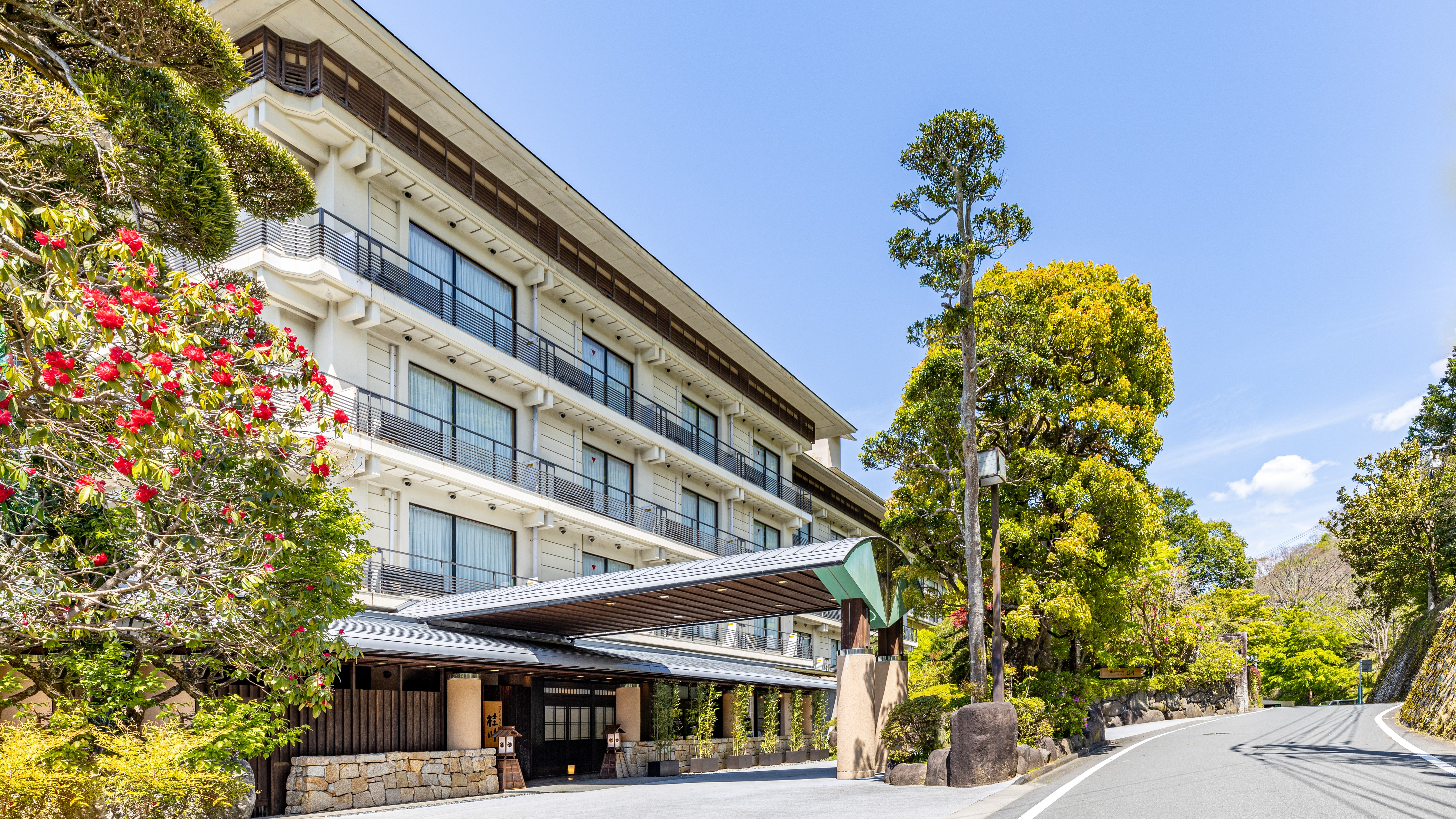 春の修善寺温泉を男一人旅。平日、食事付きで15,000円以内で泊まれる宿