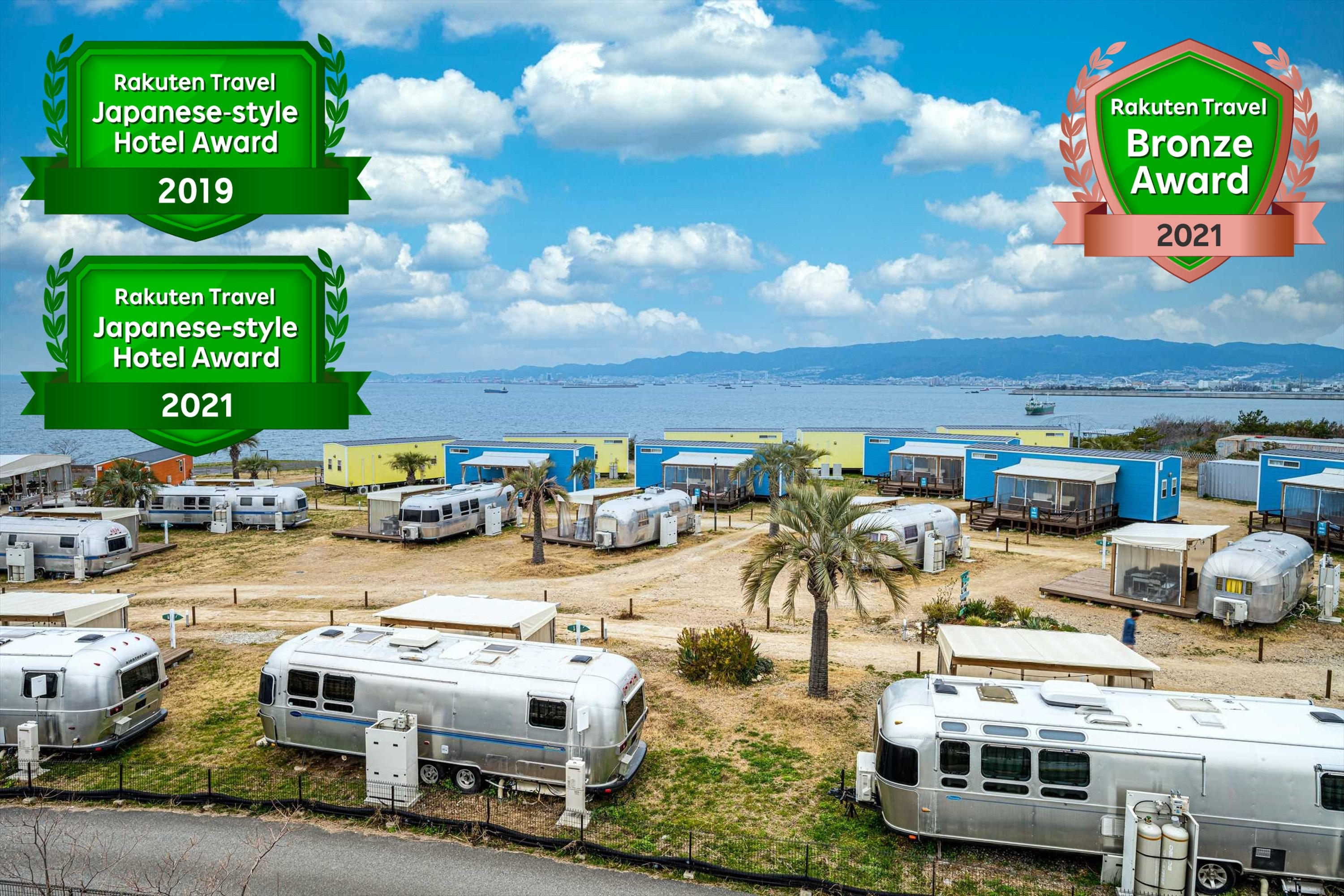 GRAN CAMPING パームガーデン舞洲 by WBF...