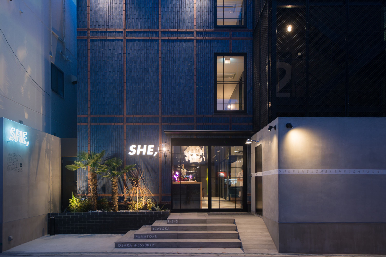 HOTEL SHE,OSAKA