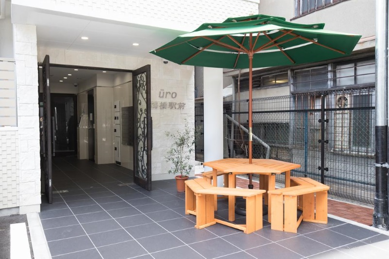 URO apartment Tsuruhashi Station