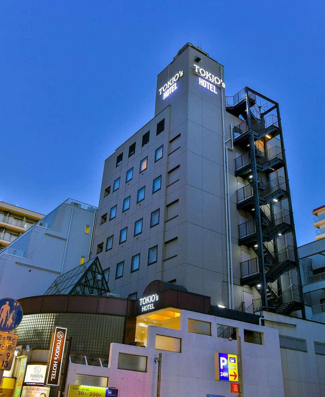 TOKIO's HOTEL(旧アークホテルナインティース)