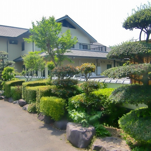 栃木温泉 旅館 朝陽の外観