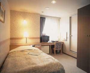 タカダステーションホテルの客室の写真