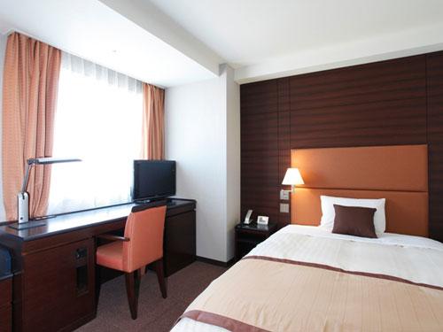 ホテルメトロポリタン高崎の客室の写真