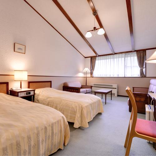 八幡平マウンテンホテルの客室の写真