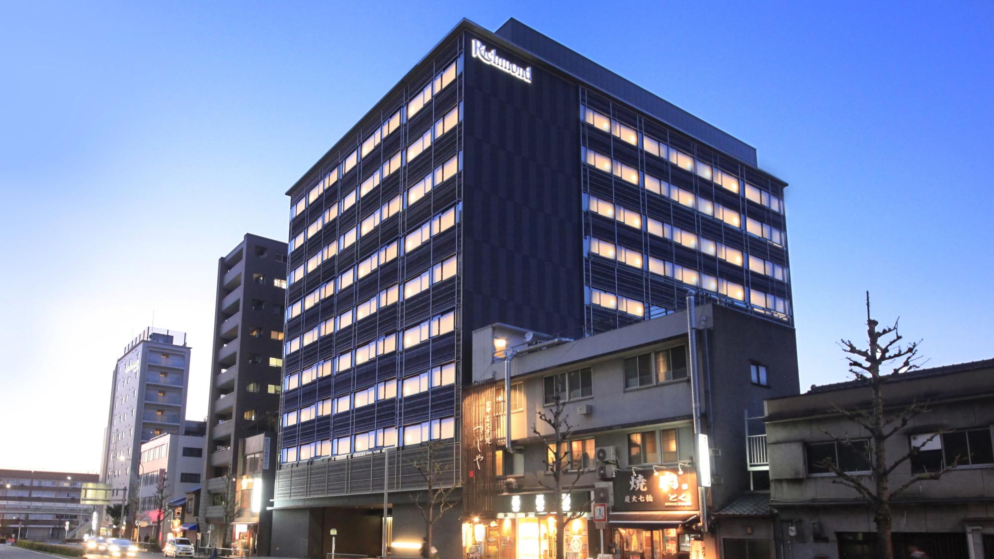 リッチモンドホテルプレミア京都駅前(2019年5月1日グランドオープン) 外観写真