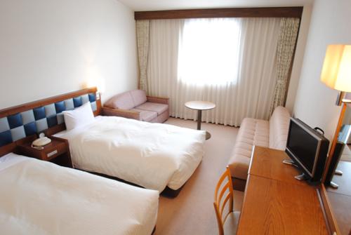 ホテルフォルクローロ角館<JR東日本ホテルズ>の客室の写真
