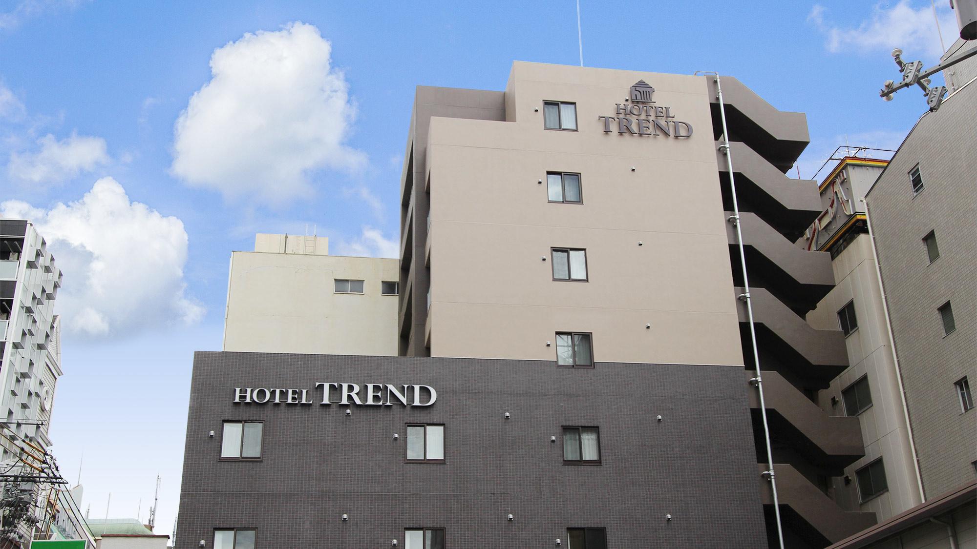 ホテルトレンド西心斎橋(2019年8月新築オープン) 外観写真