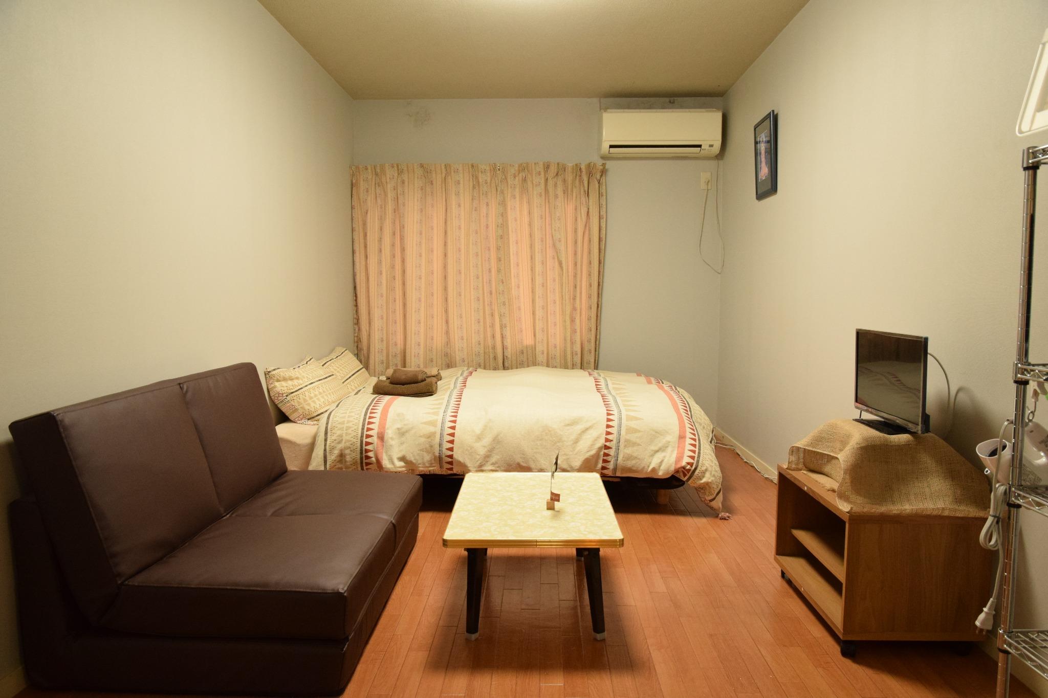 TK0102/三軒茶屋駅徒歩4分/広々1K/Wifi/出張【Vacation STAY提供】