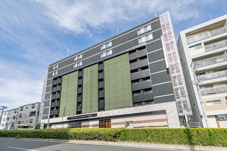 HOTEL SHINPOIN OSAKA(ホテル真法院大阪)...