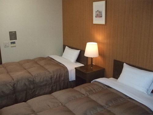 ホテルルートイン高崎駅西口の客室の写真