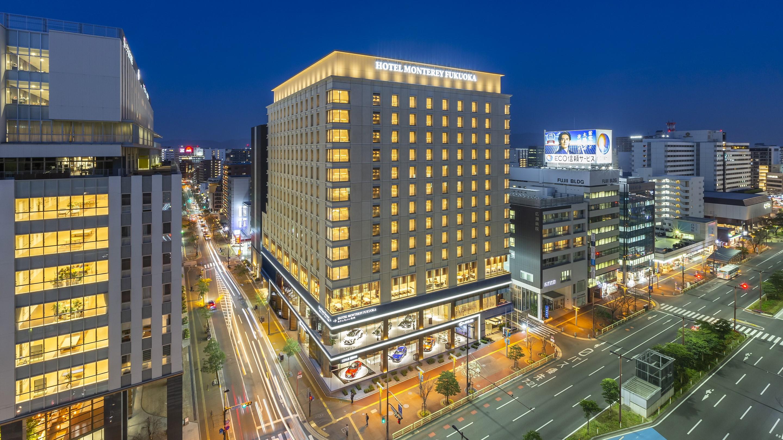 ホテルモントレ福岡(2020年4月1日新規開業)