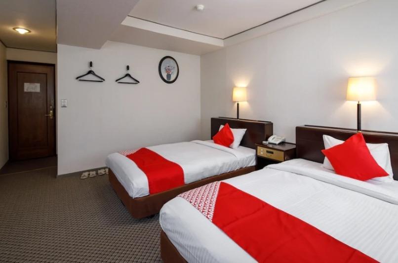 OYO 471 Hotel New Washingtonの室内